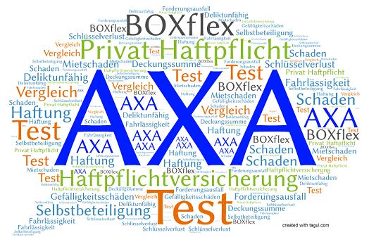 Test AXA Haftpflichtversicherung BOXflex