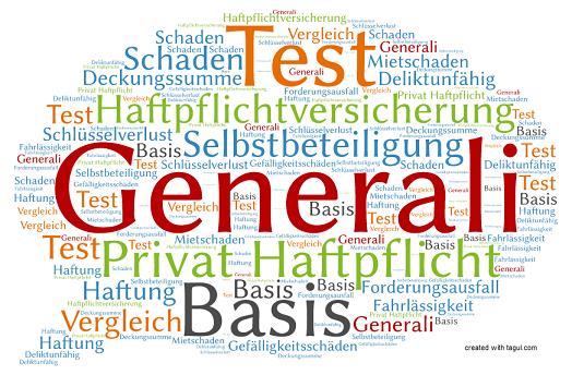 Test Generali Haftpflichtversicherung Basis