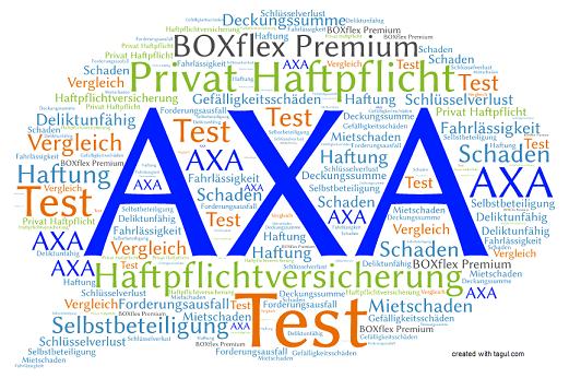 Test AXA Haftpflichtversicherung BOXflex Premium