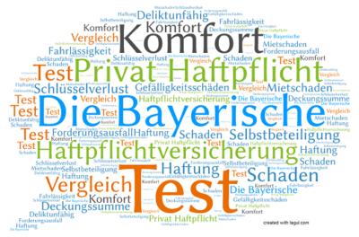 Die Bayerische Haftpflichtversicherung Komfort