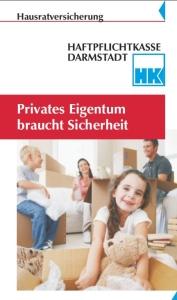 Hausratversicherung Haftpflichtkasse Darmstadt Flyer