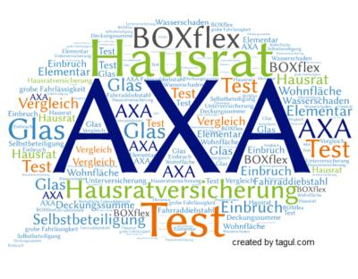 Test AXA Hausratversicherung BOXflex