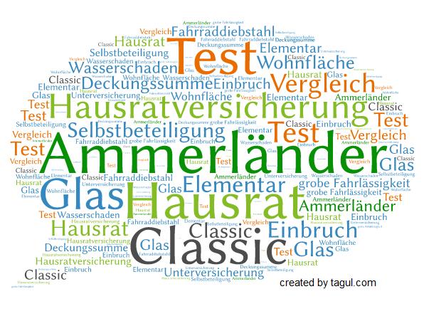 Test Ammerländer Hausratversicherung Classic