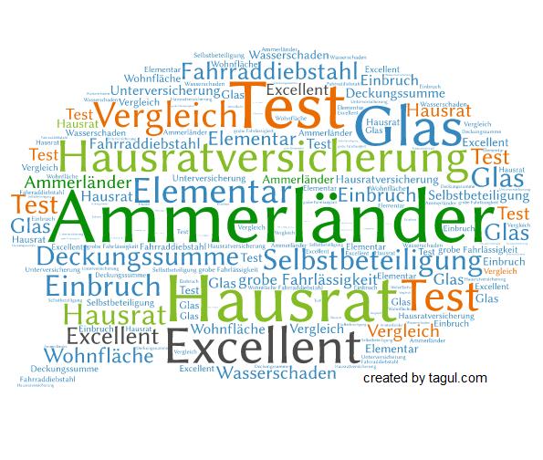 Test Ammerländer Hausratversicherung Excellent
