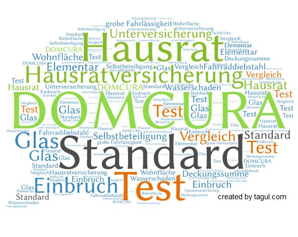 Test DOMCURA Hausratversicherung Standard