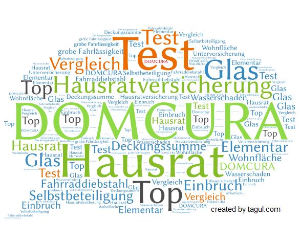 Test DOMCURA Hausratversicherung Top