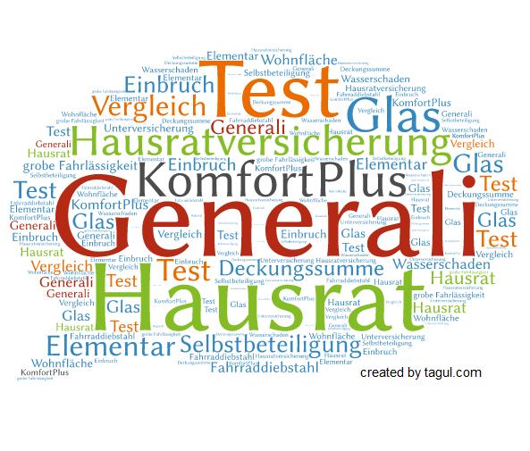 Test Generali Hausratversicherung KomfortPlus