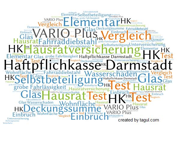 Test Haftpflichkasse Darmstadt Hausratversicherung VARIO Plus