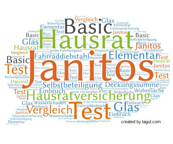 Test Janitos Hausratversicherung Basic