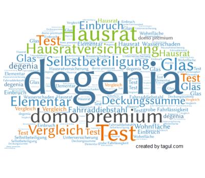 Test degenia Hausratversicherung domo premium