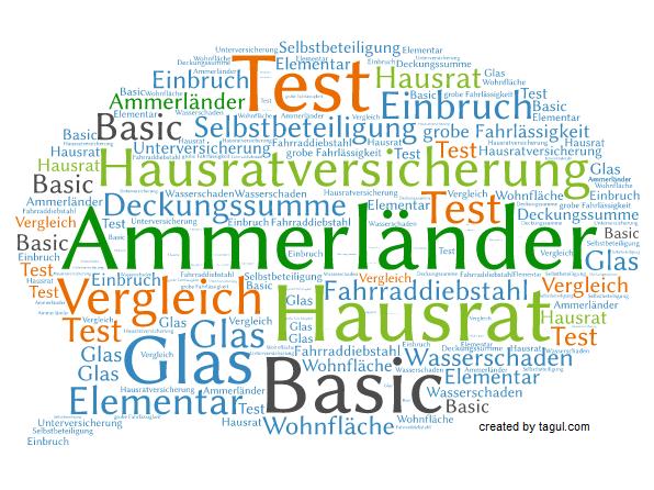 Test Ammerländer Hausratversicherung Basic