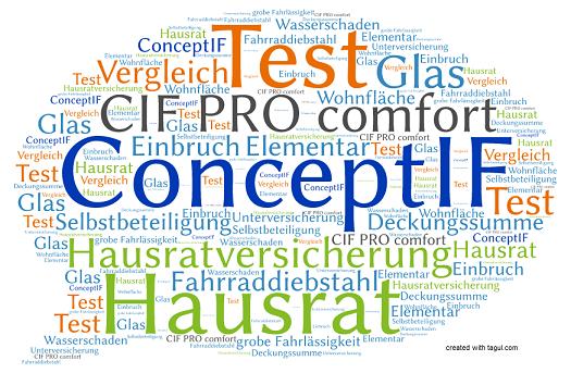 Test ConceptIF Hausratversicherung CIF PRO comfort