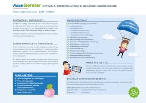 Vorteile BesserBerater + VorsorgeKampagne