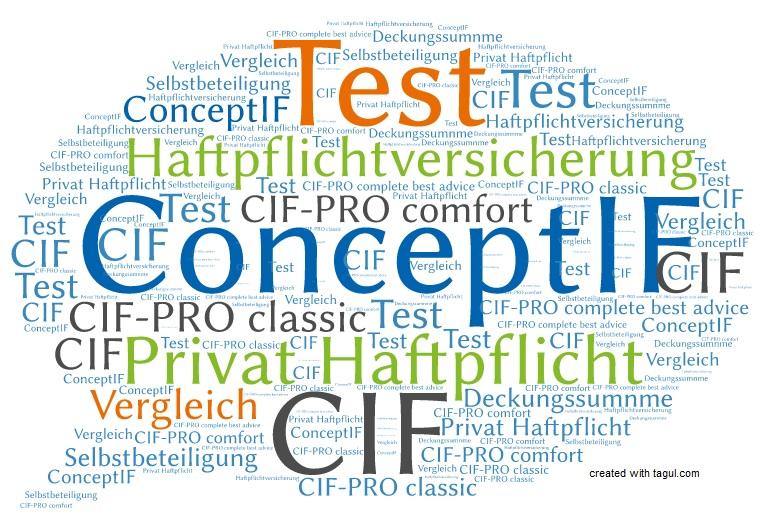 Test ConceptIF Haftpflichtversicherung