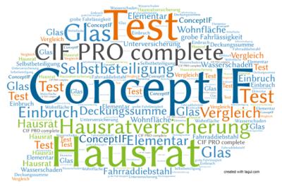 Test ConceptIF Hausratversicherung CIF PRO complete